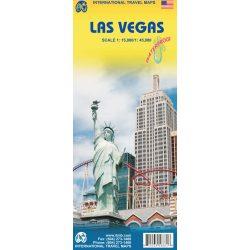 Las Vegas térkép ITM 1:15 000, 1:45 000