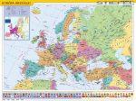 Európa uniós térkép falitérkép Stiefel 60x40 cm