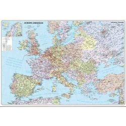 Európa országai keretezett falitérkép Nyír-Karta  70x50 cm