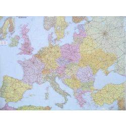 Fóliázott Európa országai falitérkép Freytag 1:3 500 000 126x90