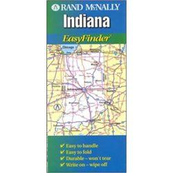 Indiana térkép Rand M