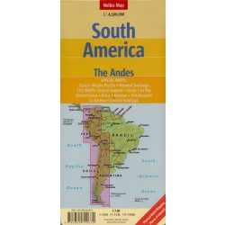 Dél-Amerika térkép Nelles 1:4 500 000