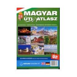 Magyar Úti Atlasz Mo.Bp.+ 285 település térképe Mapland Hungária Kft. 1:200 000, 1:20 000 2012