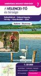 Velencei-tó és térsége kerékpáros térkép Frigória 1:50 000 2016