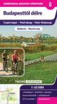 Budapesttől délre kerékpáros térkép Frigória 2012 1:65 000