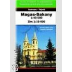 Magas-Bakony turista térkép  1:40 000  Szarvas kiadó