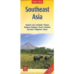 Dél-kelet Ázsia térkép Nelles 1:4 500 000