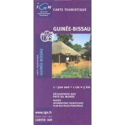 Bissau Guinea térkép IGN