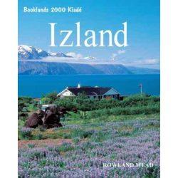 Izland útikönyv Booklands 2000 kiadó