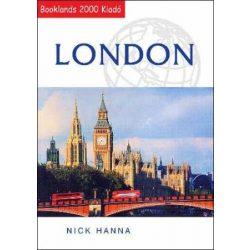 London útikönyv Booklands 2000 kiadó