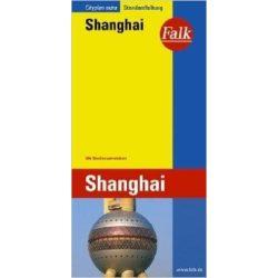 Sanghaj térkép Falk 1:15 000