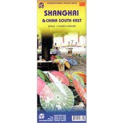 Shanghai térkép ITM  1:16 000, 1:2 500 000