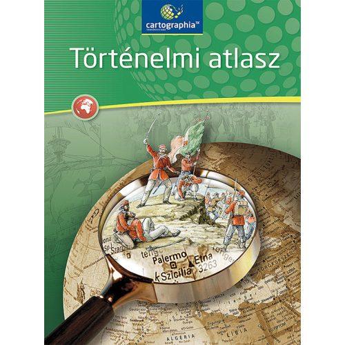 CR-0062 Történelmi atlasz Cartographia Tankönyvkiadó