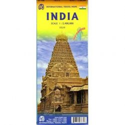 India térkép ITM 1:2 100 000