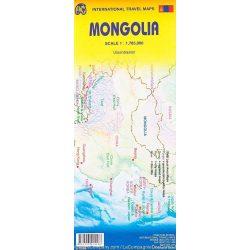 Mongólia térkép ITM 1:2 500 000