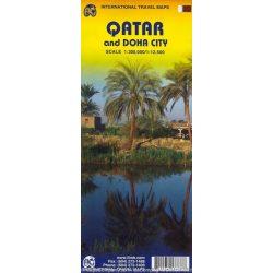 Qatar térkép ITM 2009 1:300 000, 1:12 500