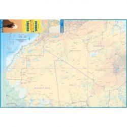 Sahara térkép IGN 1:1 000 000