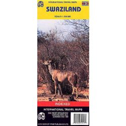 Swaziland térkép ITM 1:1 117 000