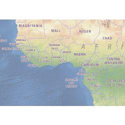 Togo térkép Michelin 1:800 000