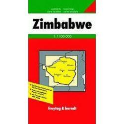 Zimbabwe térkép Freytag & Berndt 1:1 100 000
