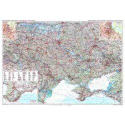 Ukrajna falitérkép Gizi Map 1:1 200 000   130x87 cm