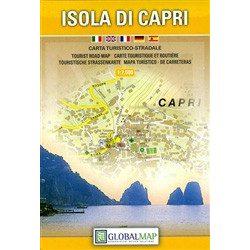 Capri térkép, ISOLA DI CAPRI LAC Italy  1:7500