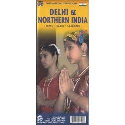 Delhi térkép ITM 2010 1:45 000, 1:1 900 000