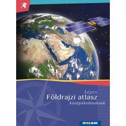 MS-4109U Képes földrajzi atlasz középiskolásoknak Mozaik kiadó