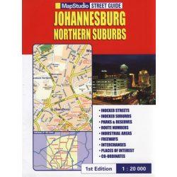 Johannesburg térkép Mapstudio