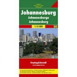 Johannesburg térkép Freytag & Berndt 1:15 000