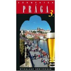 Prága útikönyv Sörmentén Hibernia kiadó  2013