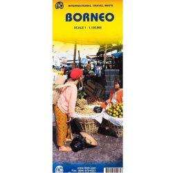Borneo, Kalimantan térkép ITM 1:1 130 000