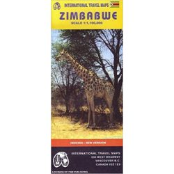 Zimbabwe térkép ITM 1:1 250 000