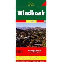 Windhuk térkép Freytag & Berndt 1:15 000
