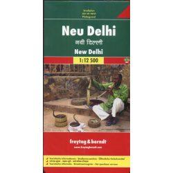Új Delhi térkép Freytag & Berndt 1:12 500