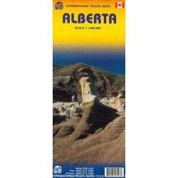Alberta térkép ITM 1:1 000 000