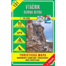 131. Madaras, Nyitra-folyó mente turista térkép VKÚ 1:50 000