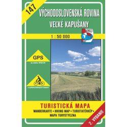 147. Laborc és Ung völgye turista térkép VKÚ 1:50 000