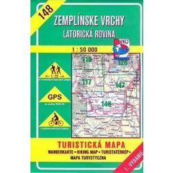 148. Bodrog és Latorca környéke turista térkép VKÚ 1:50 000