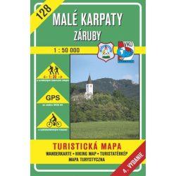 128. Kis Kárpátok Közép turista térkép VKÚ 1:50 000