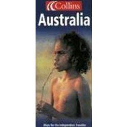 Ausztrália térkép Collins 1:4 000 000