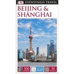 Beijing Peking Shanghai útikönyv DK Eyewitness Guide, angol 2015