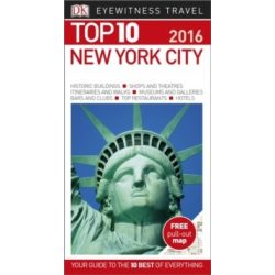 New York City útikönyv TOP 10 DK Eyewitness Guide, angol 2016