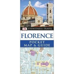Florence, Firenze útikönyv DK Eyewitness Pocket Map and Guide