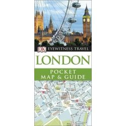London útikönyv DK Eyewitness Pocket Map and Guide  2016