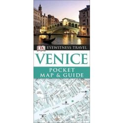 Venice Velence útikönyv DK Eyewitness Pocket Map and Guide  2016