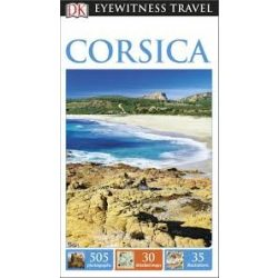 Corsica útikönyv DK Eyewitness Guide, angol 2016 Korzika útikönyv