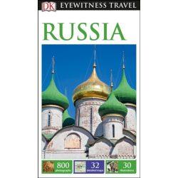 Russia útikönyv DK Eyewitness Guide, angol 2016 Oroszország útikönyv