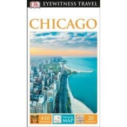 Chicago útikönyv DK Eyewitness Guide, angol 2016