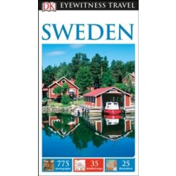 Svédország útikönyv, Sweden útikönyv DK Eyewitness Guide, angol 2017